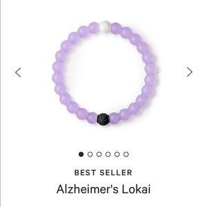 Lokai purple Alzheimer's bracelet